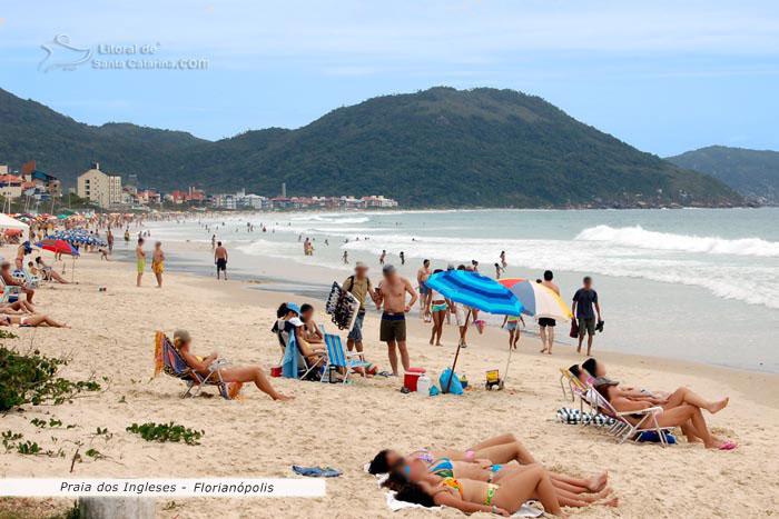 Fotos Da Praia Dos Ingleses Em Florian Polis Sc Brasil