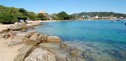 Praia da Lagoinha - Bombinhas - Santa Catarina - Brasil