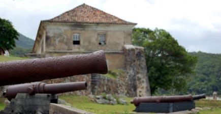 Fortaleza de Anhatomirim - Florianópolis - Santa Catarina - Brasil