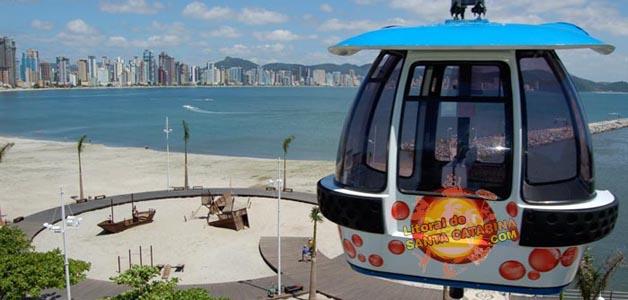Foto Bondinho Parque unipraias