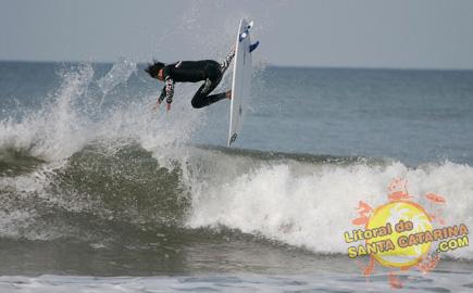 Fotografia de Surf - Foto: Flávio Fernandes - LitoraldeSantaCatarina.com