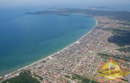 Fotografia aérea de Itapema SC - Foto: Flávio Fernandes - LitoraldeSantaCatarina.com