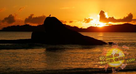 Nascer do sol em Bombas, Bombinhas Santa Catarina
