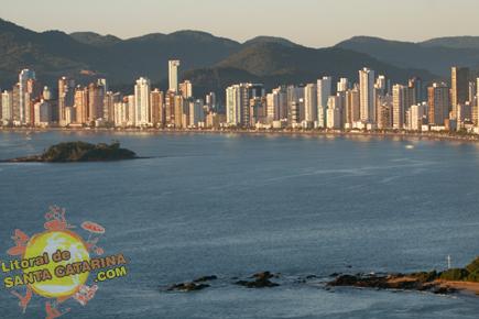 Foto aérea de Balneário Camboriú