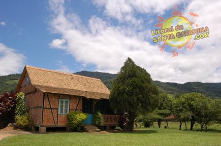 Foto da Rota do Enxaimel em Pomerode Santa Catarina