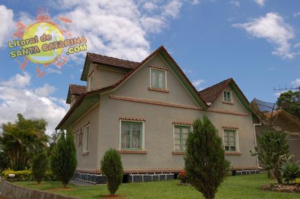 Casa na viagem a Rota do Enxaimel em Pomerode Santa Catarina