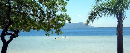 Lagoa da Conceição em Florianópolis, Santa Catarina, Brasil