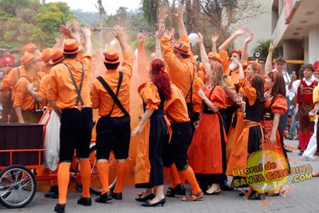 Desfile da Oktoberfest SC