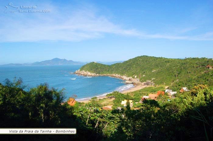 Foto da praia da tainha em Bombinhas – Fotos de Ricardo Junior / www.ricardojuniorfotografias.com.br