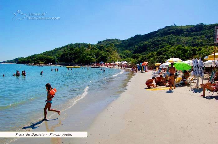 Praia da daniela em Florianópolis - Foto: Marcelo Fernandes