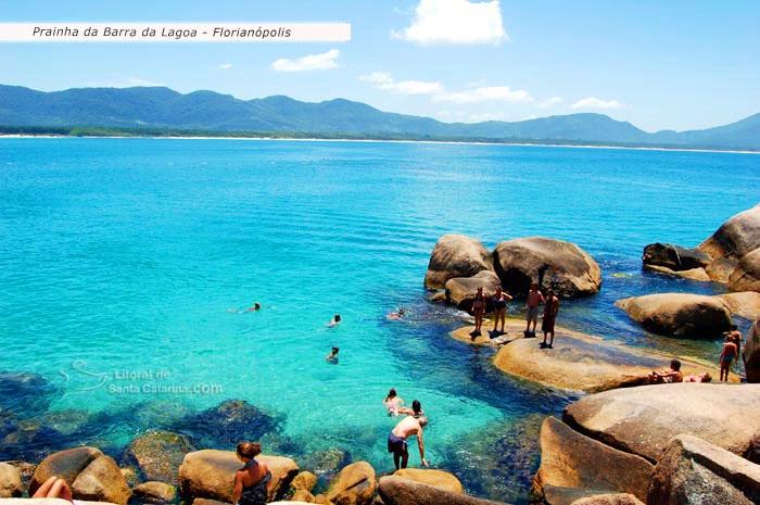 Prainha da Barra da Lagoa em Florianópolis - Foto Marcelo Fernandes