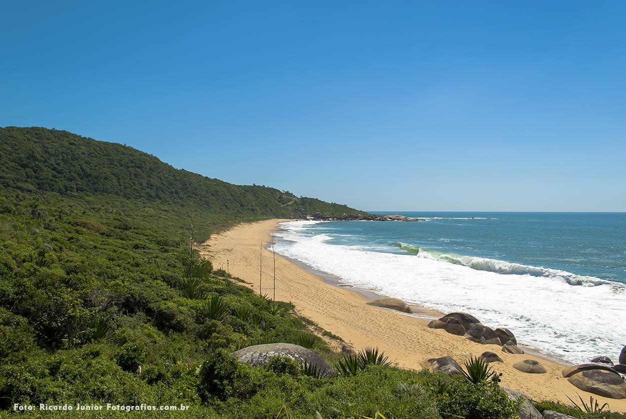 Vista orla da praia de taquaras em Balneário Camboriú – Fotos de Ricardo Junior / www.ricardojuniorfotografias.com.br